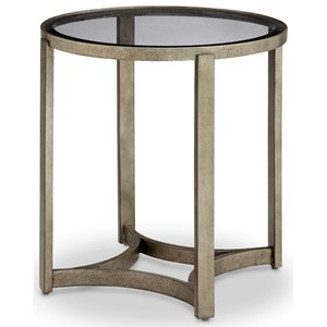 Magnussen Home Frisco Round End Table