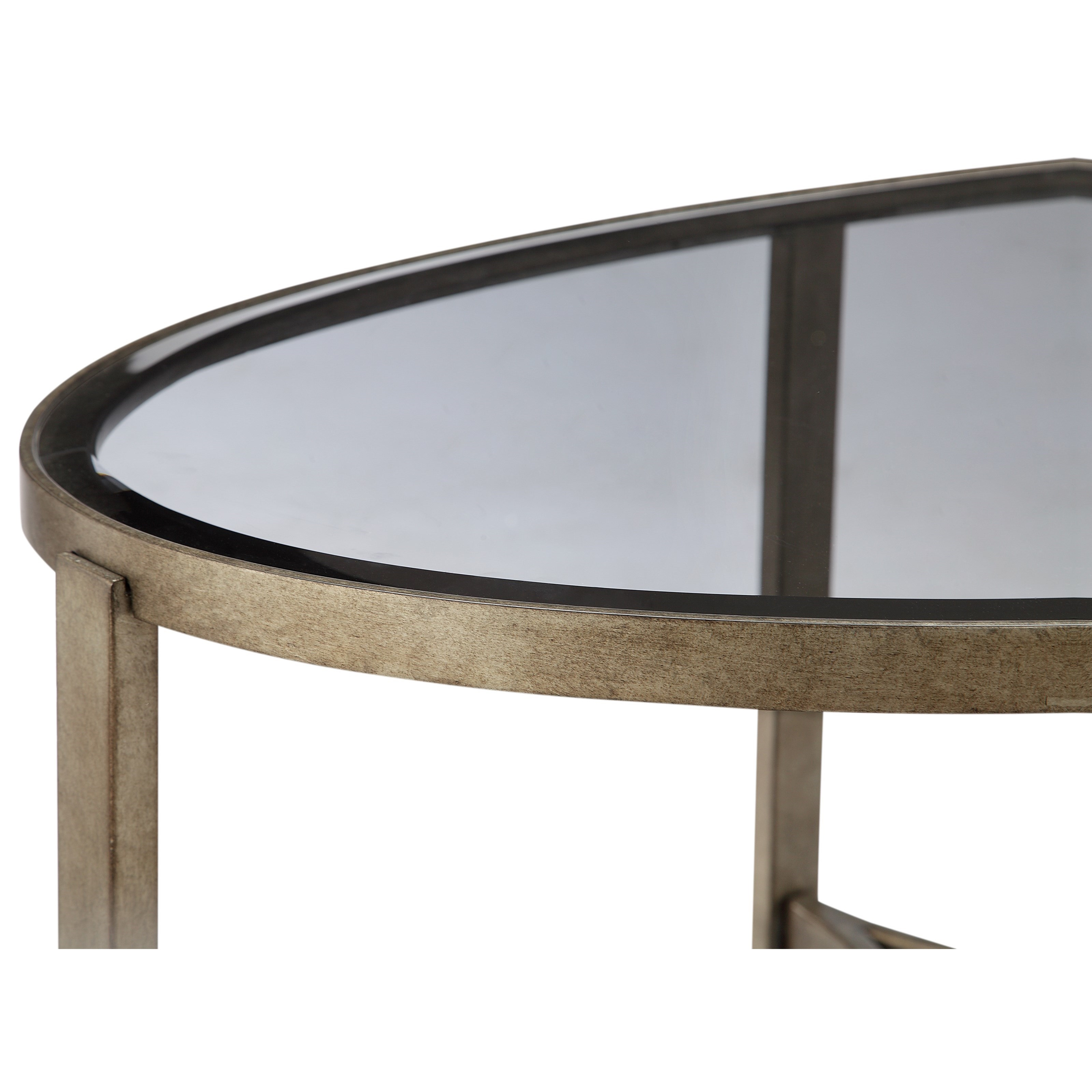 Magnussen Home Frisco T4250 47 Oval Cocktail Table With Metal Frame Beck 39 S Furniture