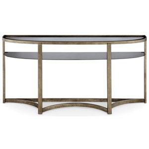 Magnussen Home Frisco Demilune Sofa Table