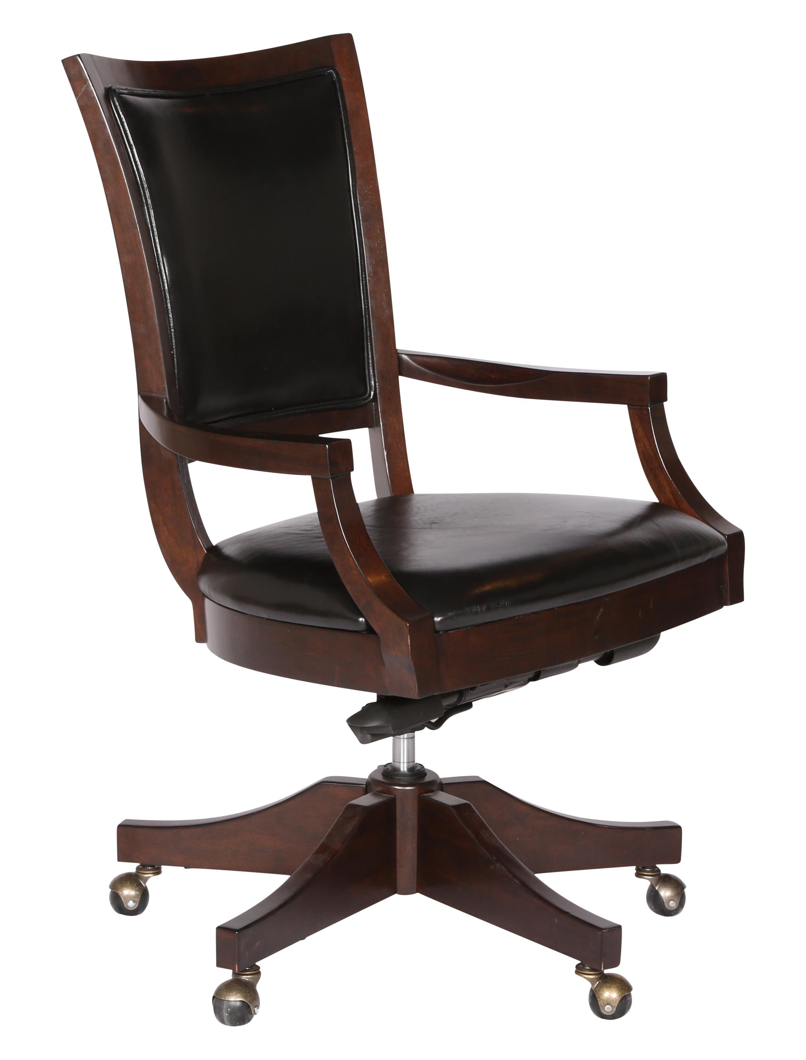 Magnussen Home Fuqua Swivel Desk Chair - Item Number: H1794-83