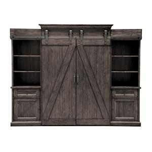 Magnussen Home Garrett 3778 Entertainment Wall Unit
