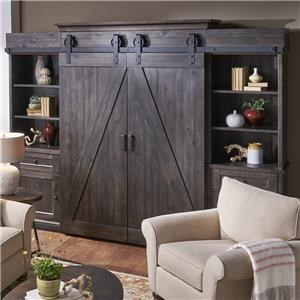 Belfort Select Garrett Entertainment Wall Unit
