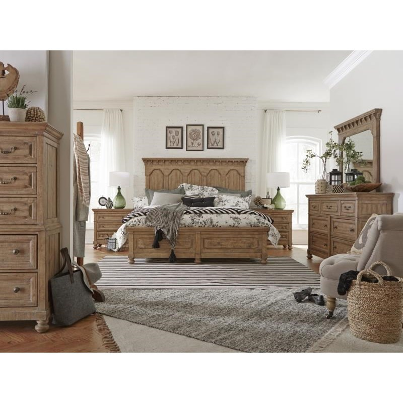 Magnussen Home Graham Hills Queen Storage Bedroom Group - Item Number: B4281 Q Storage Bedroom Group 1