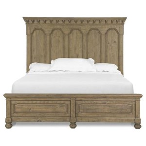 Morris Home Furnishings Thorndale Thorndale King Panel Bed