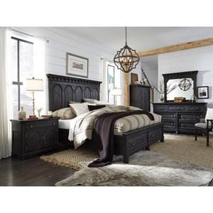 Magnussen Home Bedford Corners Queen Storage Bedroom Group