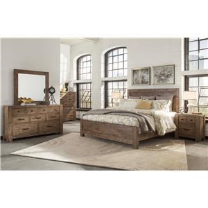 Magnussen Home Griffith 4-Piece King Bedroom Set
