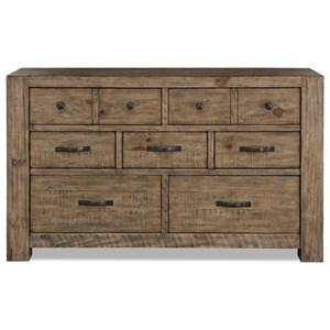 Magnussen Home Griffith 7 Drawer Dresser