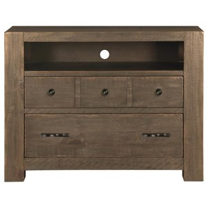 Magnussen Home Griffith 2 Drawer Media Chest