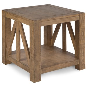 Magnussen Home Griffith Rectangular End Table