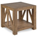Magnussen Home Griffith Rectangular End Table - Item Number: T4208-03
