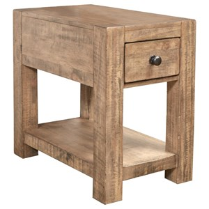 Magnussen Home Griffith Chairside End Table