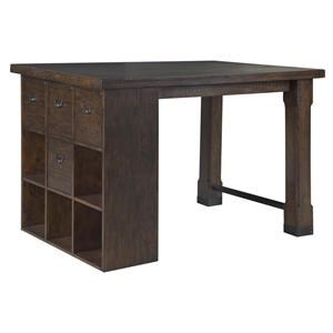 Magnussen Home Pine Hill Counter Height Desk