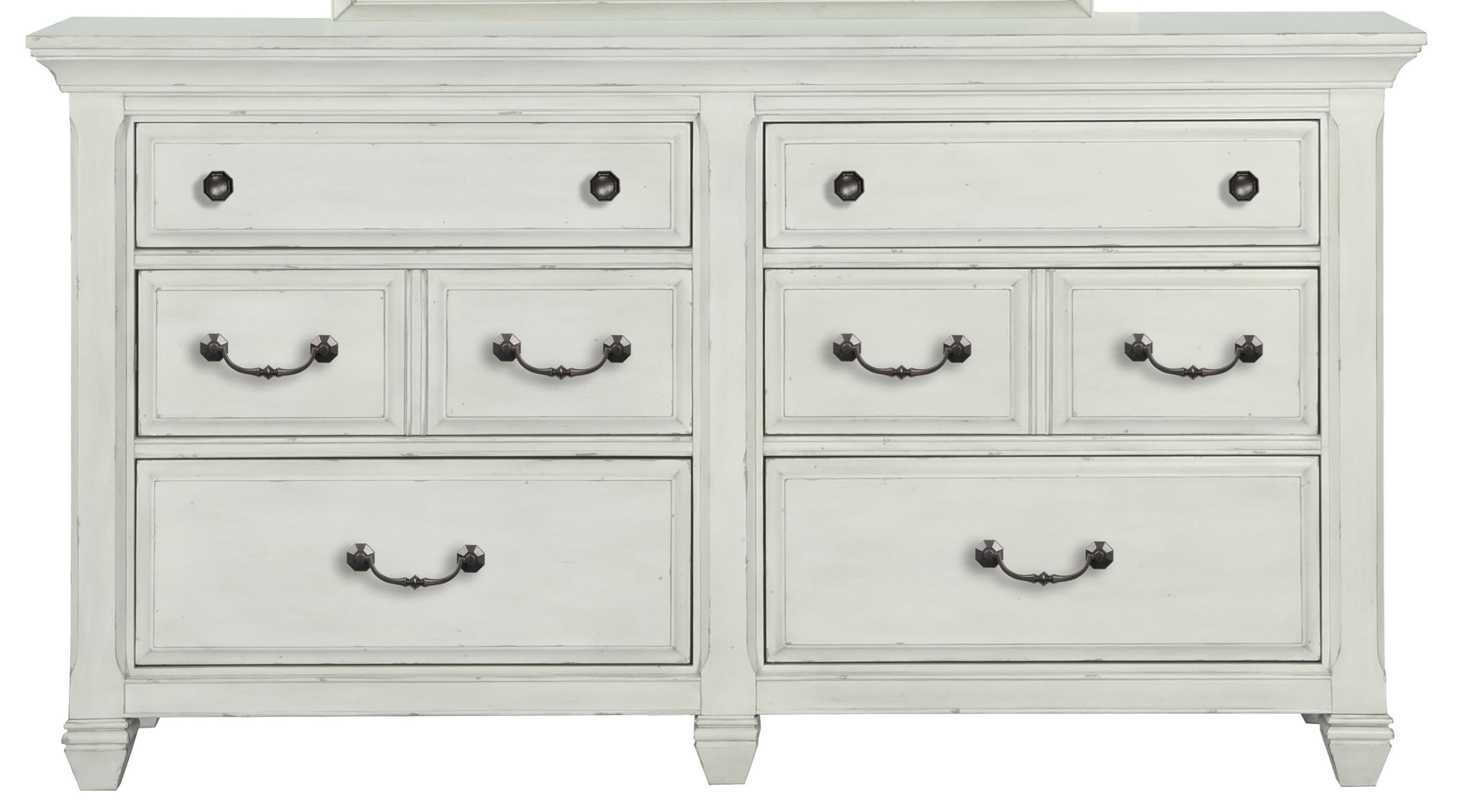 Belfort Select Magnolia Park Drawer Dresser - Item Number: B3681-20