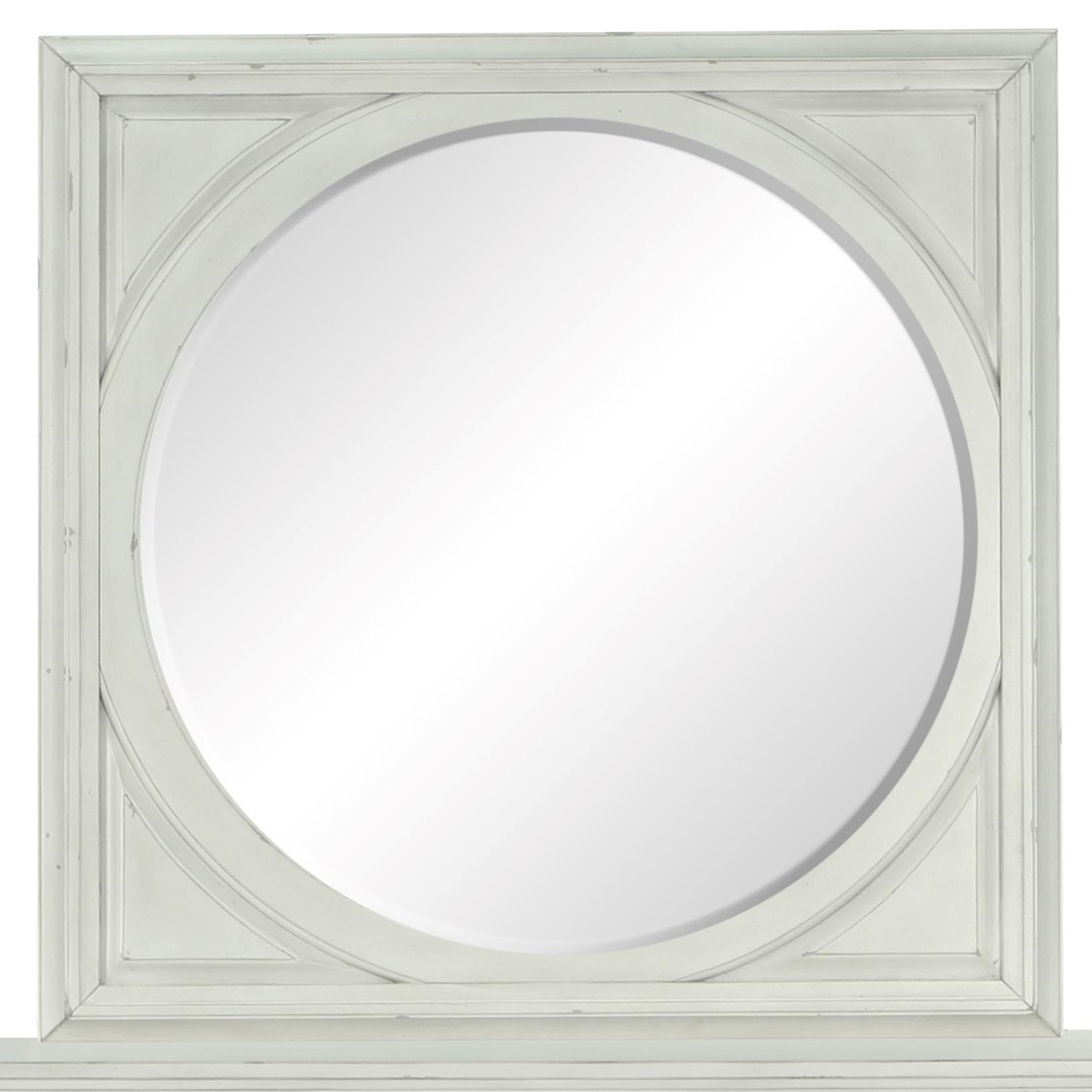 Belfort Select Magnolia Park Square Mirror - Item Number: B3681-41