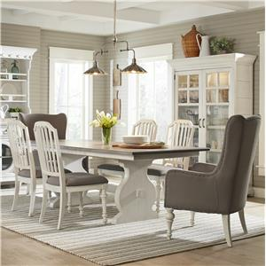Belfort Select Magnolia Park 7 Pc Dining Set