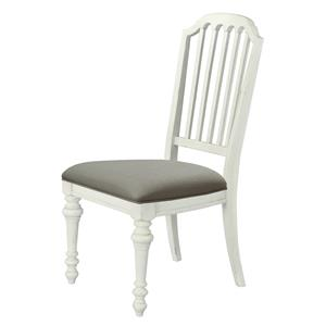 Belfort Select Magnolia Park Dining Side Chair with Upholstered Seat