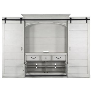 Belfort Select Magnolia Park Entertainment Wall Console