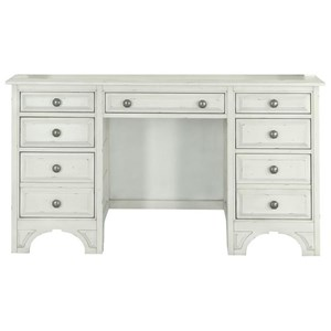 Magnussen Home Belinda 7 Drawer Desk