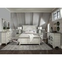 Magnussen Home Belinda Twin Panel Bed - Bed Shown May Not Represent Size Indicated
