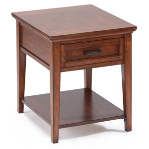 Magnussen Home Harbor Bay End Table