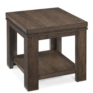 Magnussen Home Harbridge Rectangular End Table