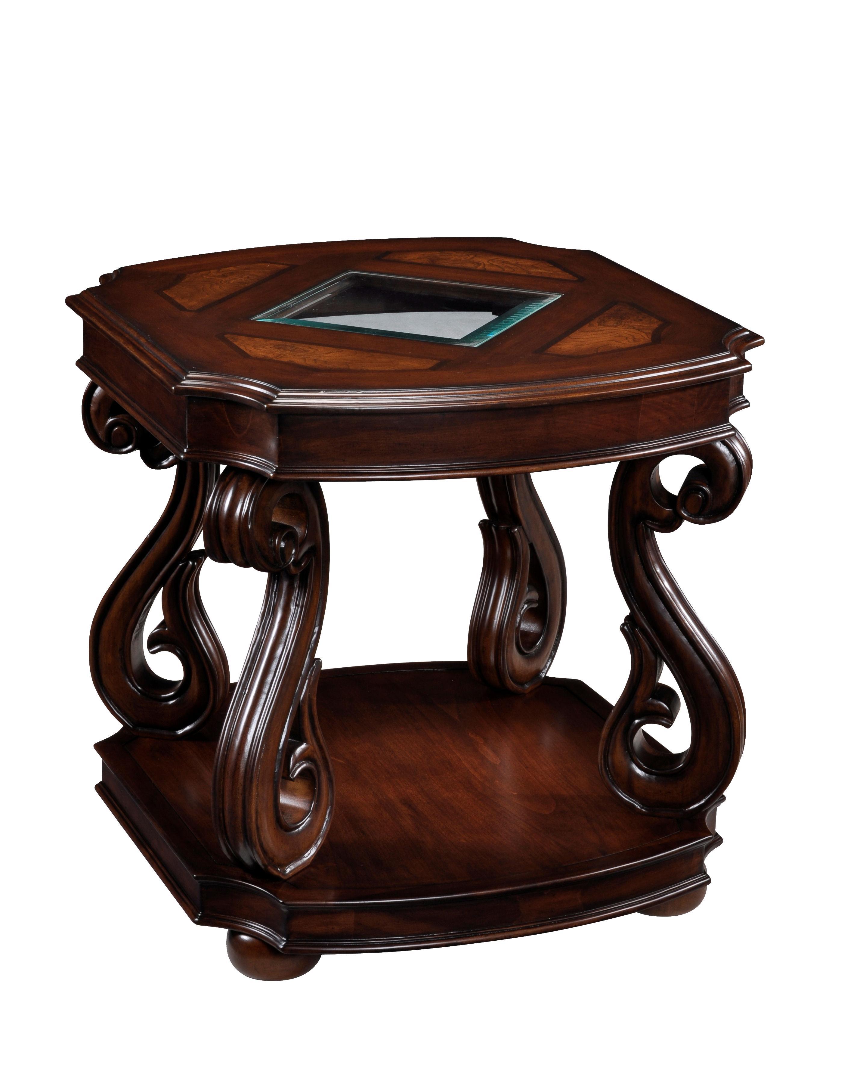 Magnussen Home Harcourt  Rectangular End Table - Item Number: T1648-03