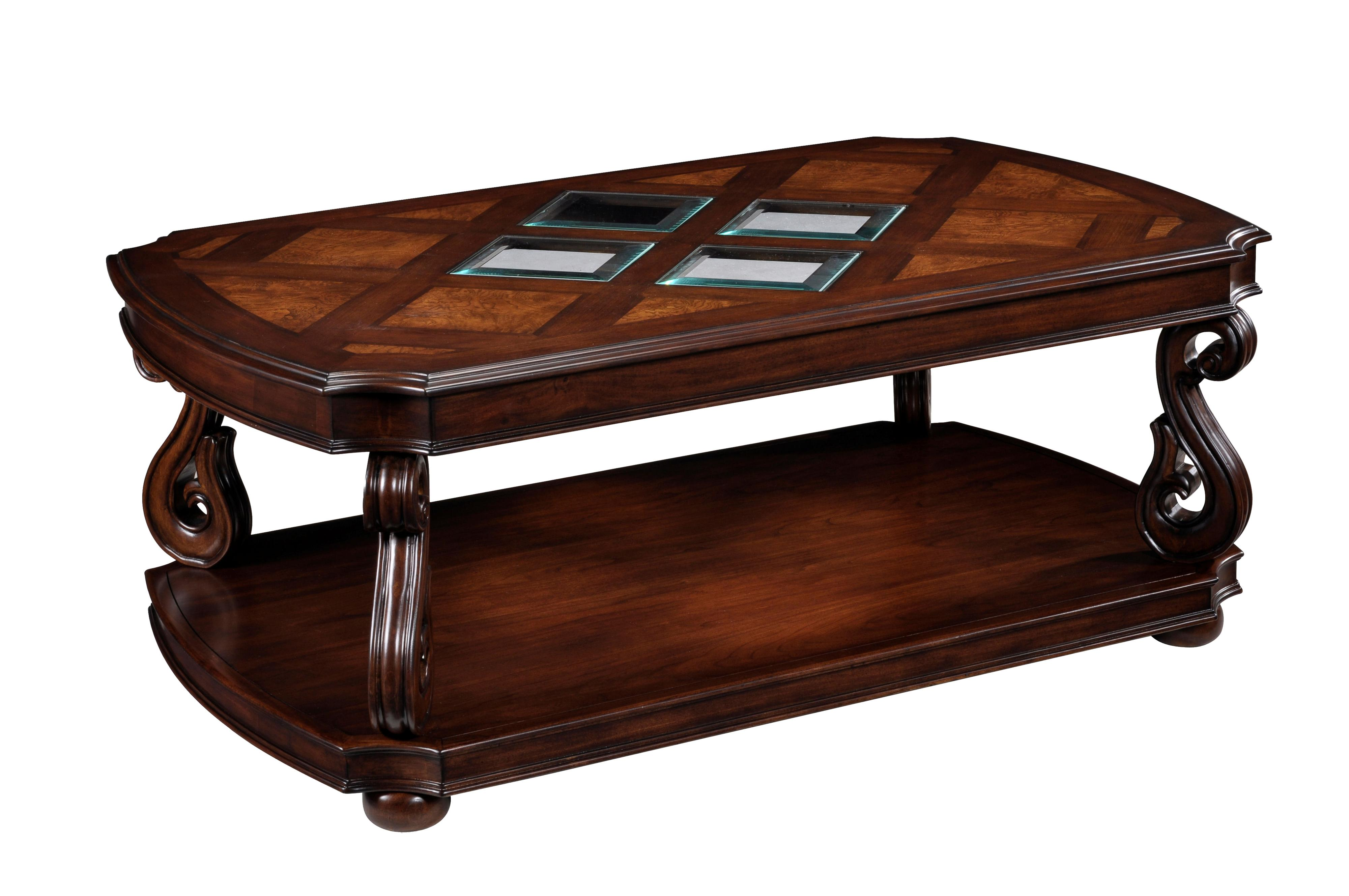 Magnussen Home Harcourt Rectangular Cocktail Table   Item Number: T1648 43