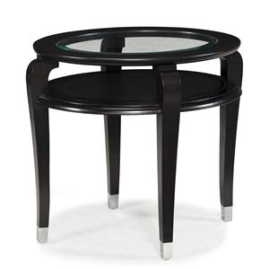 Magnussen Home Harper Oval End Table