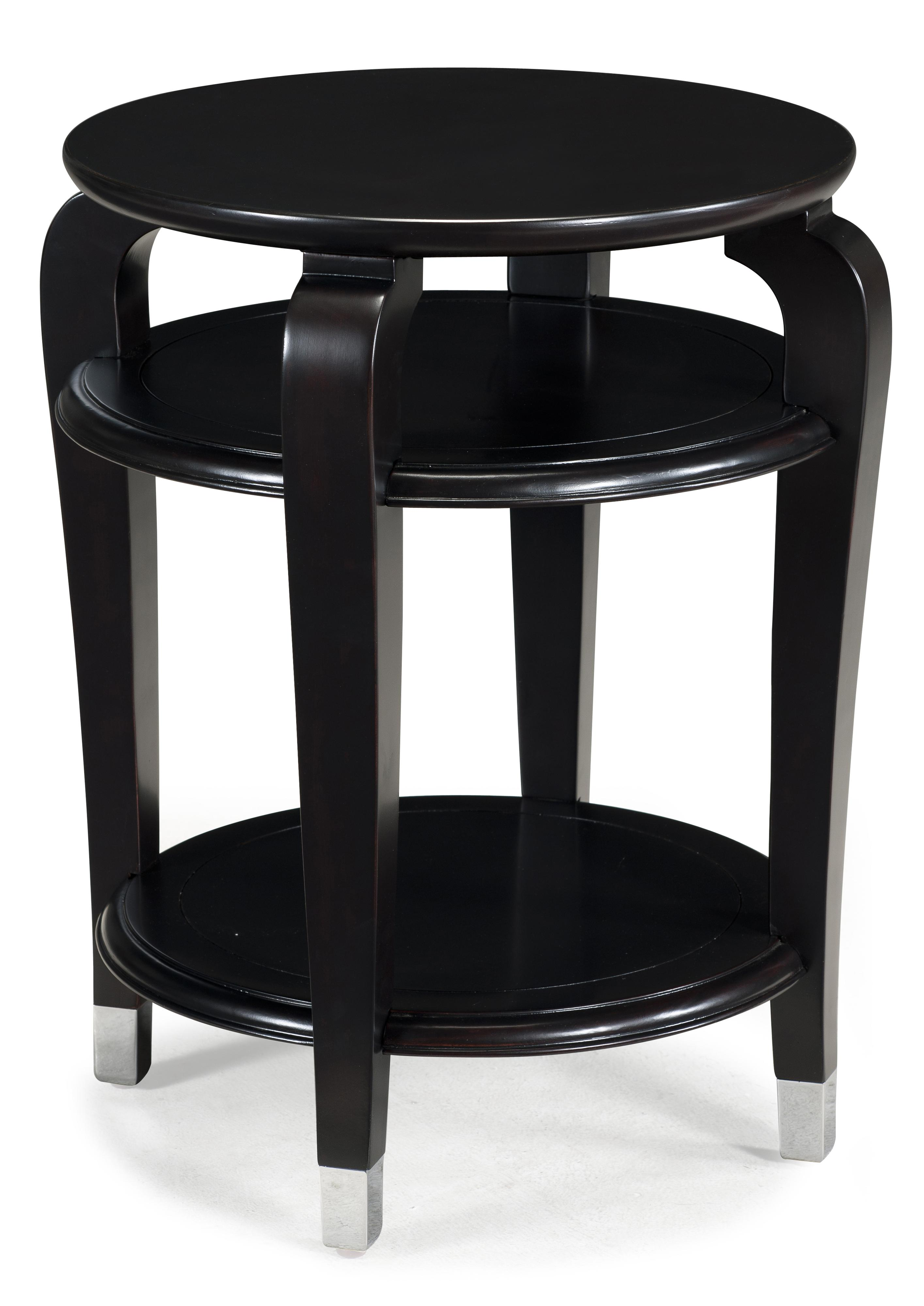 Magnussen Home Harper Round Accent Table - Item Number: T1946-35