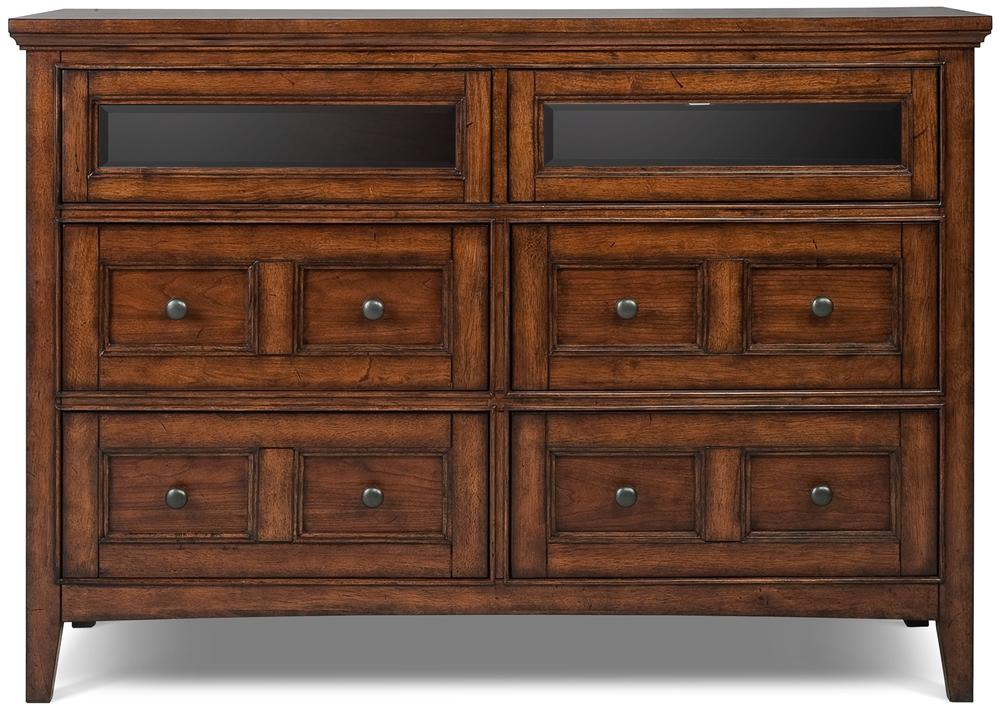 Magnussen Home Harrison Media Chest   Item Number: B1398 36