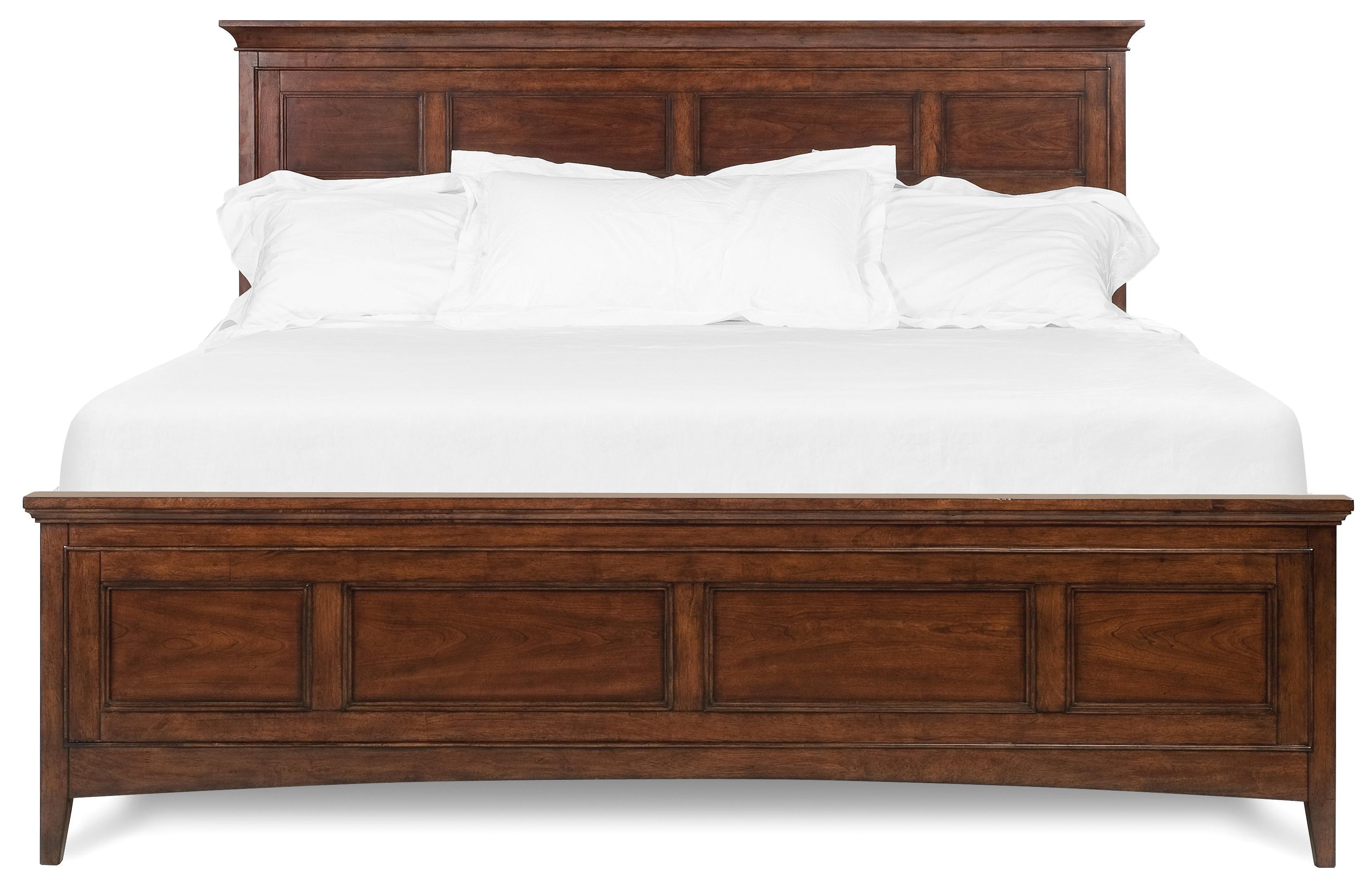 Belfort Select Harrison King Panel Bed - Item Number: B1398-64H+64F+54R