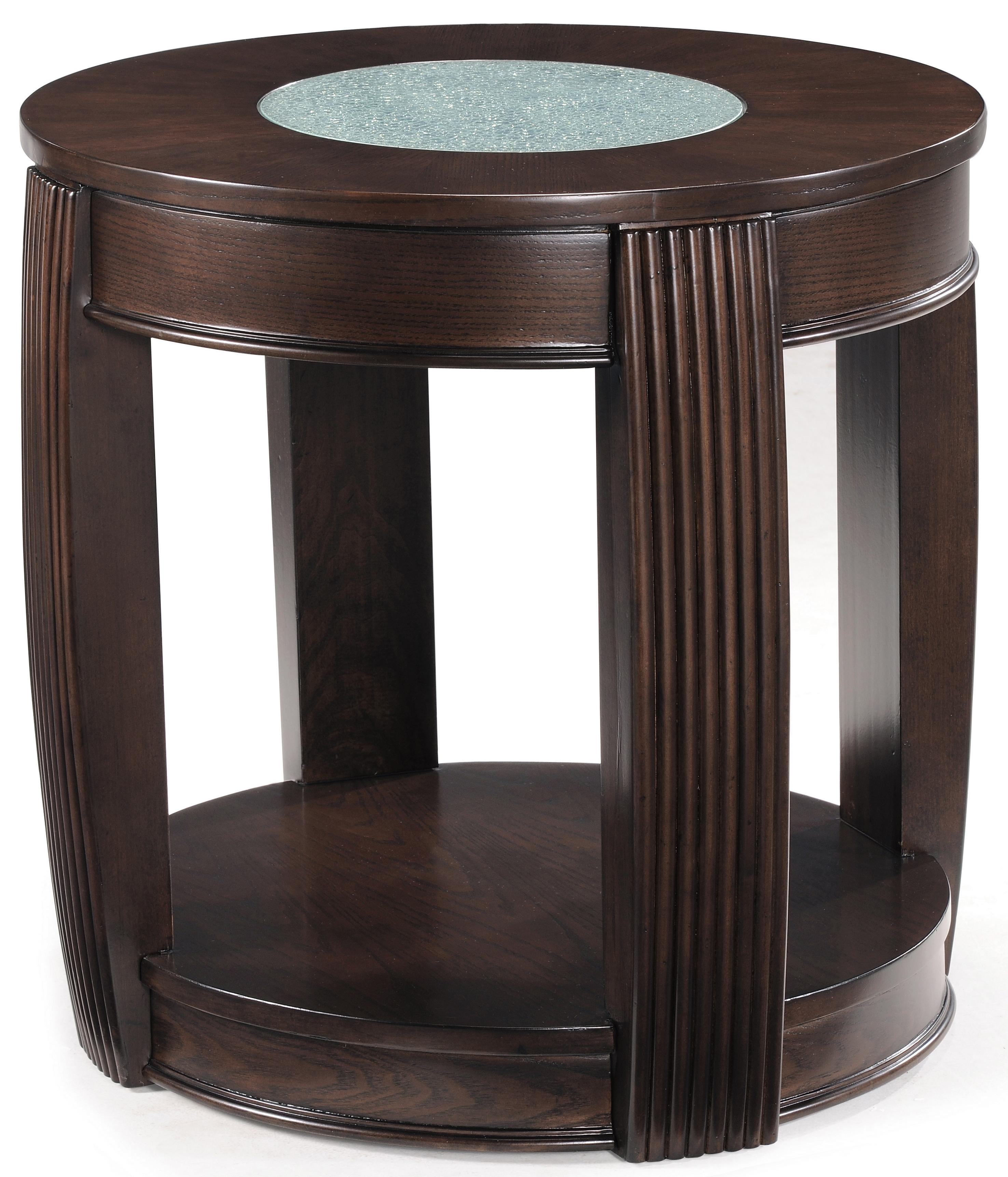 Magnussen Home Ino Oval End Table - Item Number: T1738-07