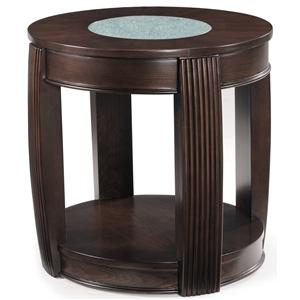 Magnussen Home Ino Oval End Table