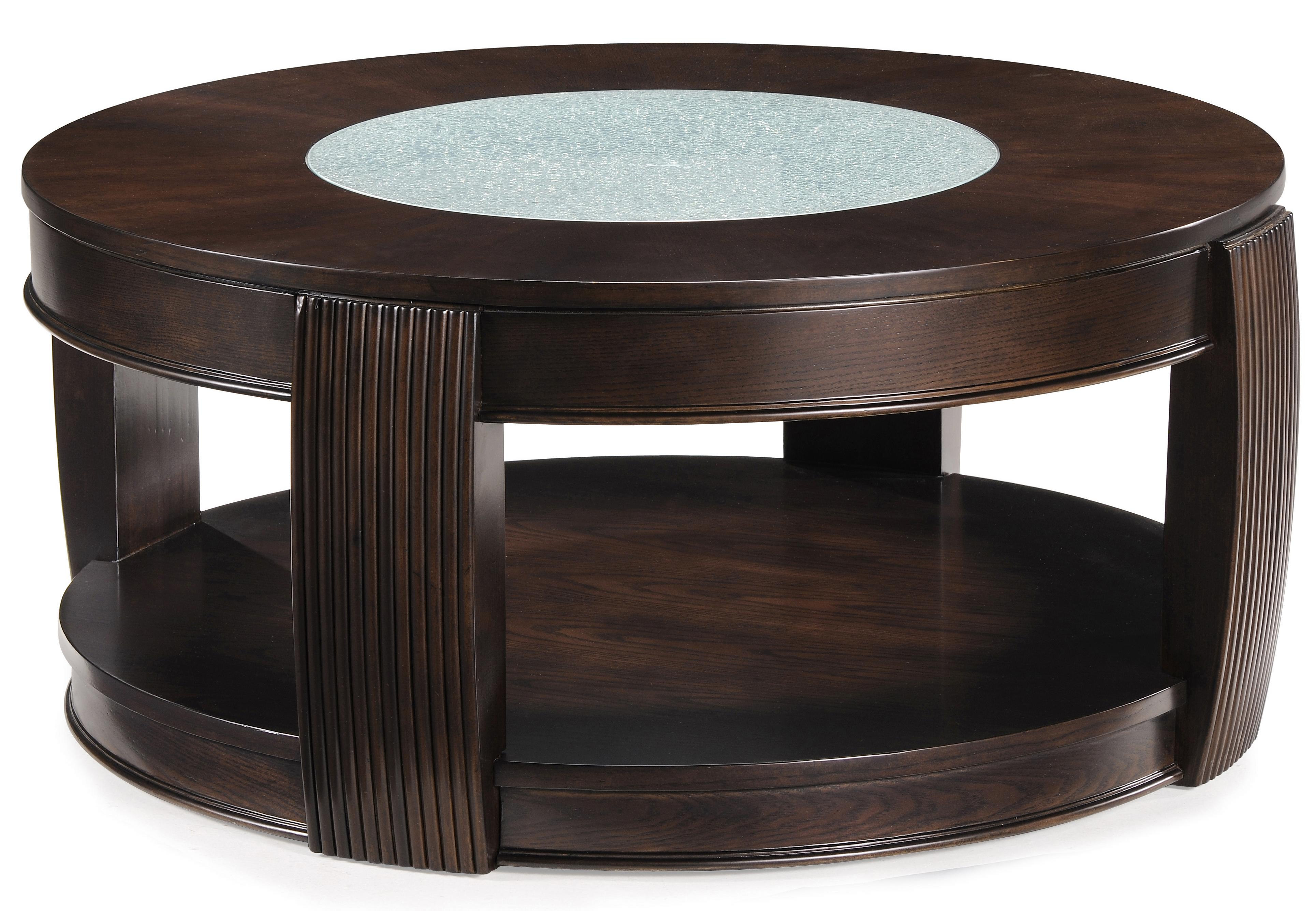 Magnussen Home Ino Round Cocktail Table - Item Number: T1738-45