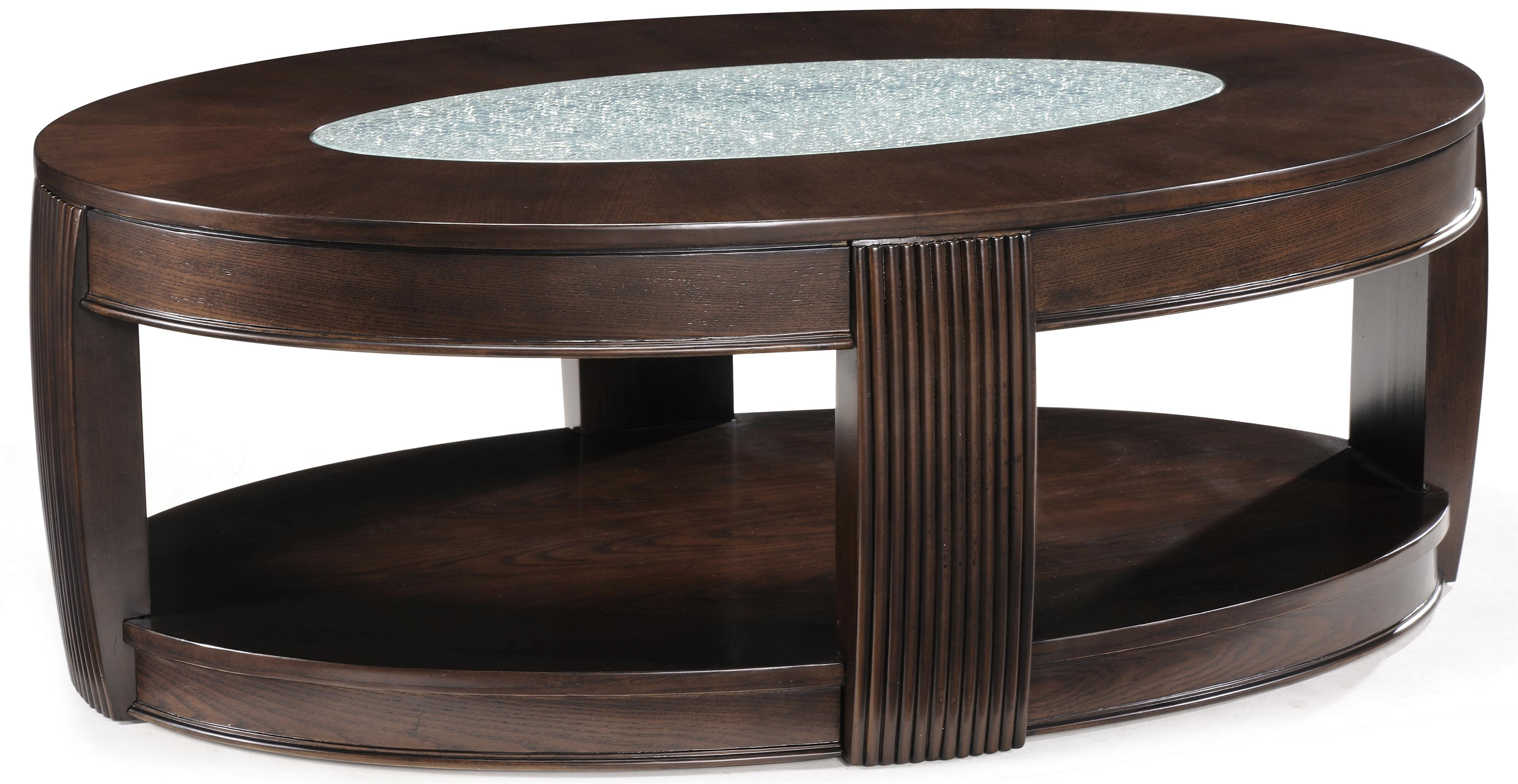 Magnussen Home Ino Oval Cocktail Table - Item Number: T1738-47