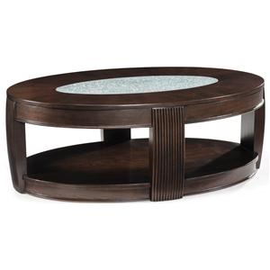Magnussen Home Ino Oval Cocktail Table