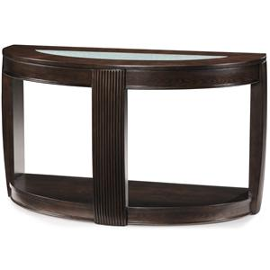 Magnussen Home Ino Demilune Sofa Table