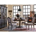 Magnussen Home Jefferson Market Traditional Sideboard with Scrolled Legs