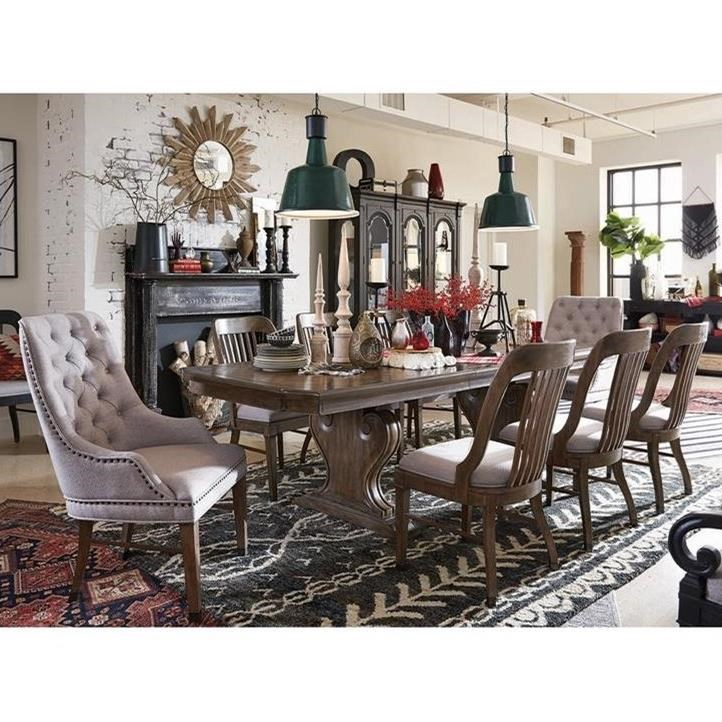 Magnussen Home Jefferson Market Traditional Dining Set