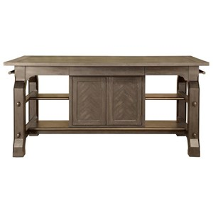 Magnussen Home Jefferson Market Rectangular Counter Table