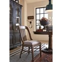 Magnussen Home Jefferson Market Dining Side Chair with Upholstered Seat
