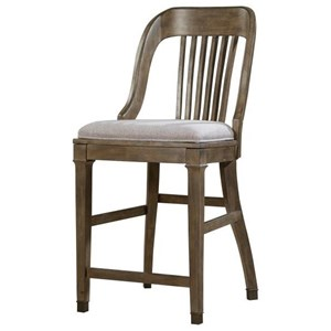 Magnussen Home Jefferson Market Counter Stool