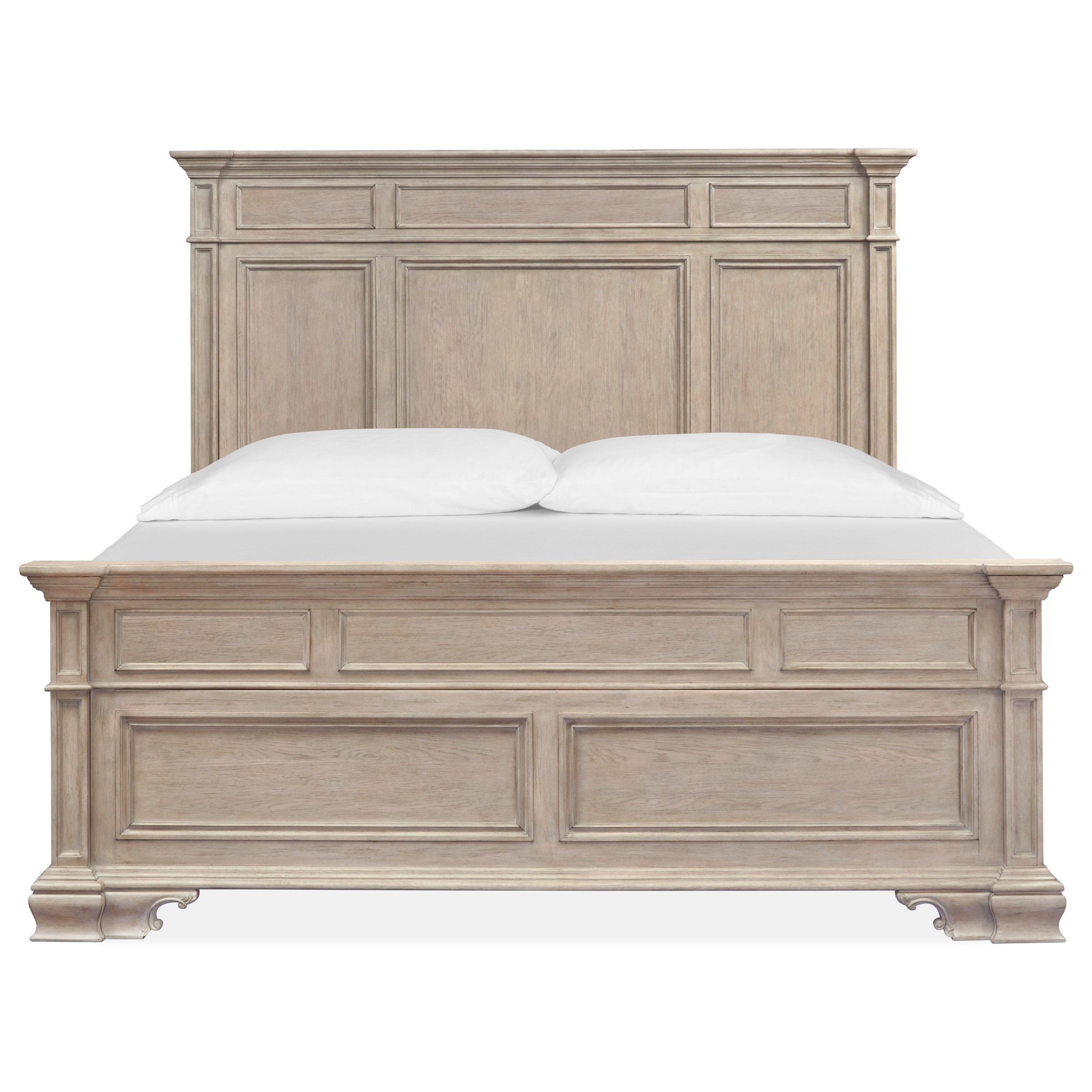 Jocelyn - B5135 King Panel Bed  by Magnussen Home at Stoney Creek Furniture