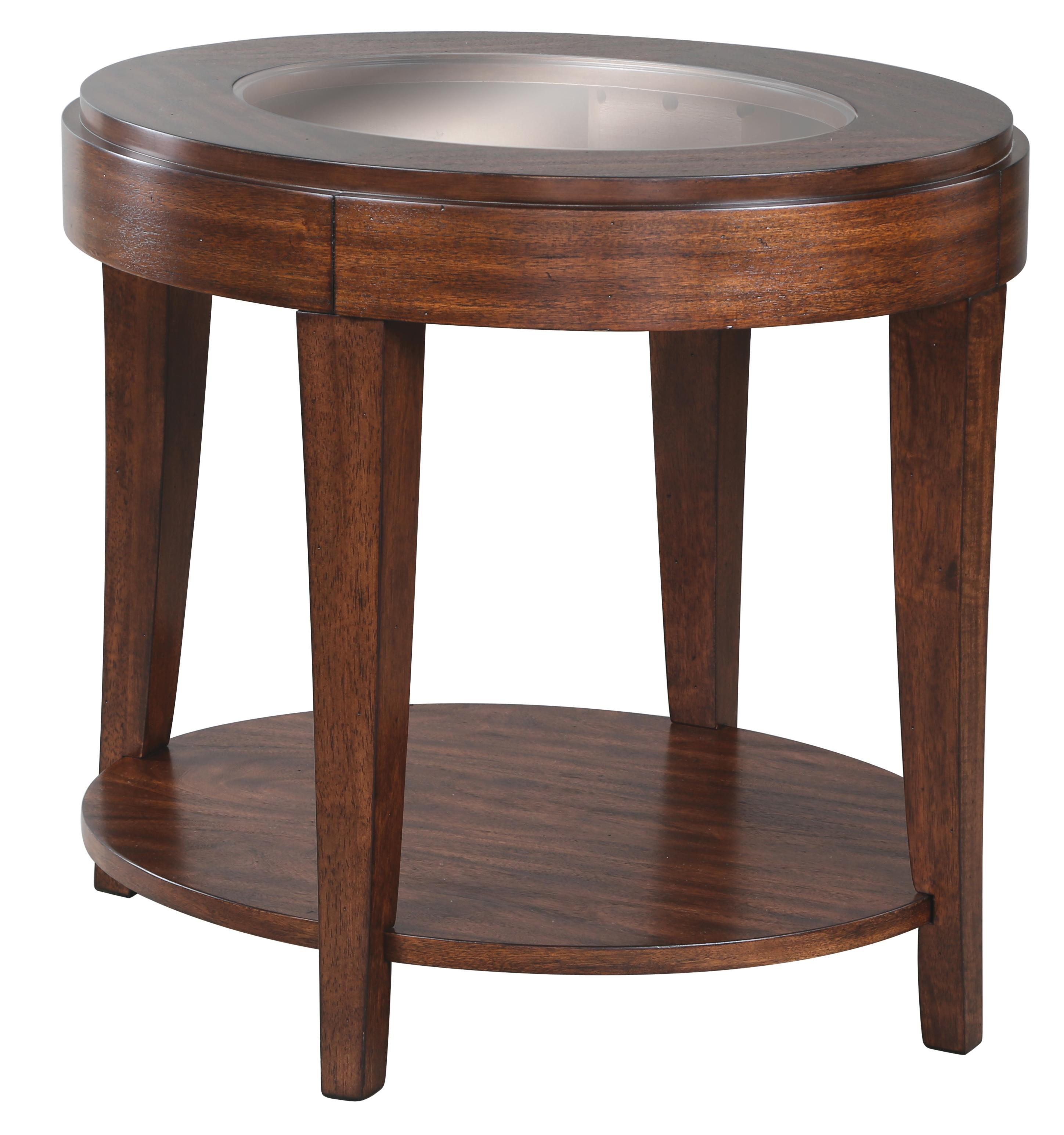 Belfort Select Keaton Oval End Table - Item Number: T2536-07