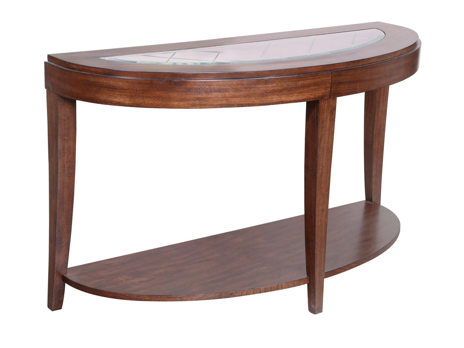 Magnussen Home Keaton Demilune Sofa Table - Item Number: T2536-75
