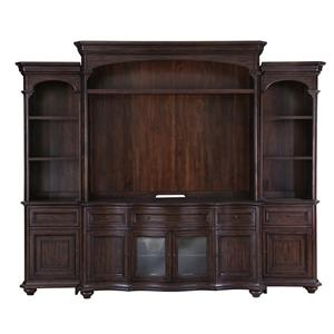 Magnussen Home Kessington Entertainment Wall Unit