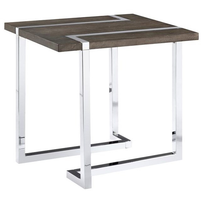 Kieran Rectangular End Table by Magnussen Home at Rotmans