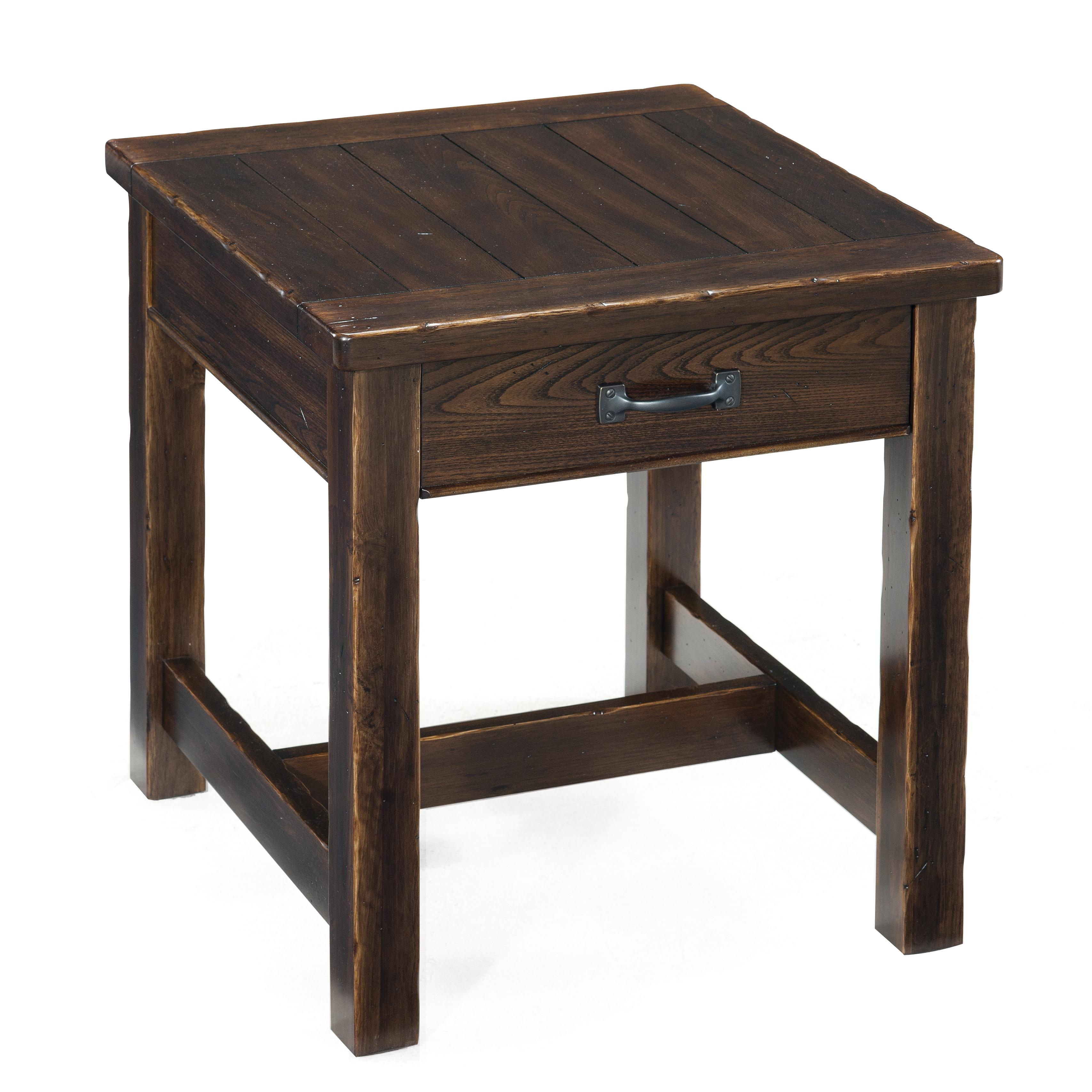 Magnussen Home Kinderton Rectangular End Table - Item Number: T2398-03