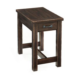 Magnussen Home Kinderton Rectangular Chairside Table