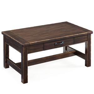 Magnussen Home Kinderton Step-Up Rectangular Cocktail Table